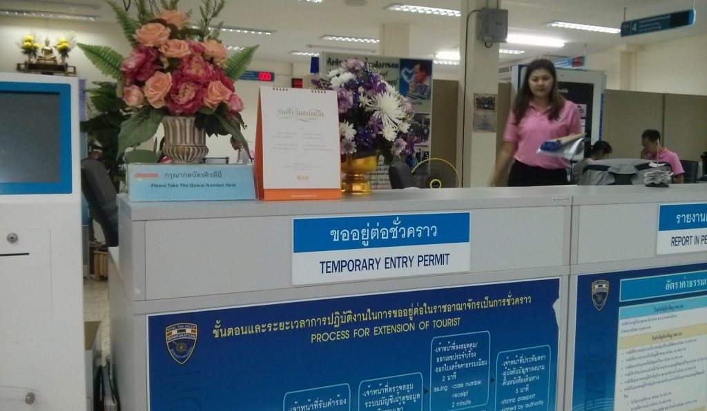 Visa-Verlängerung in Krabi