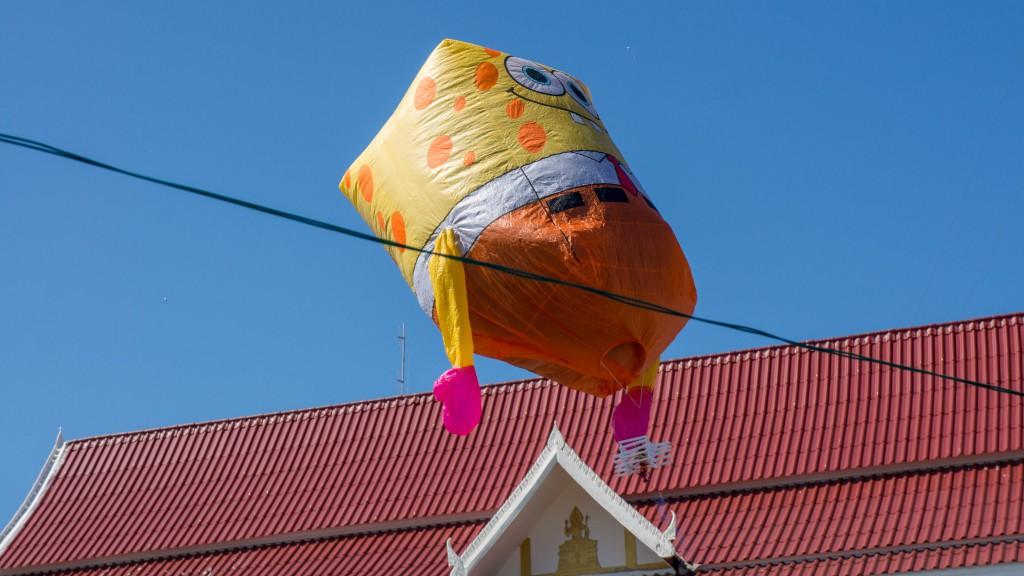 Hot Air Balloon Contest: Spongebob