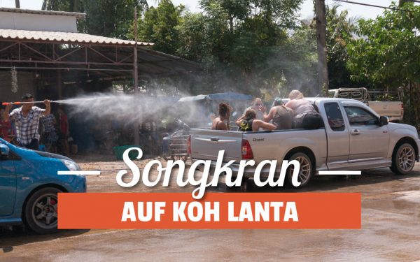 Songkran auf Koh Lanta