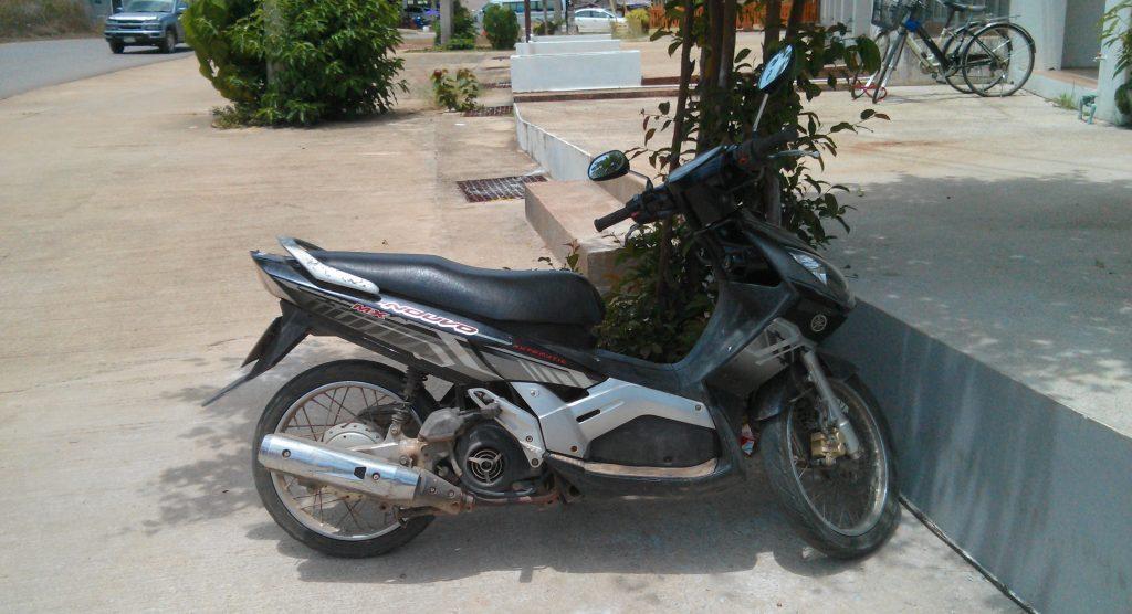 Unser Roller auf Koh Lanta: 5.000 Baht pro Monat