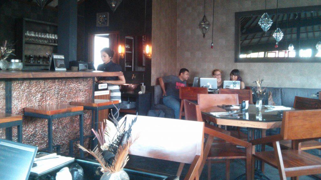 Kismet Café in Ubud