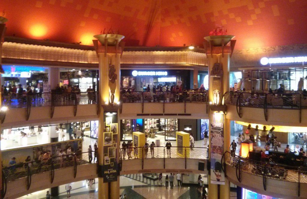 Die Sunway Pyramid Mall in Kuala Lumpur ist nur einer der vielen beeindruckenden Konsumtempel