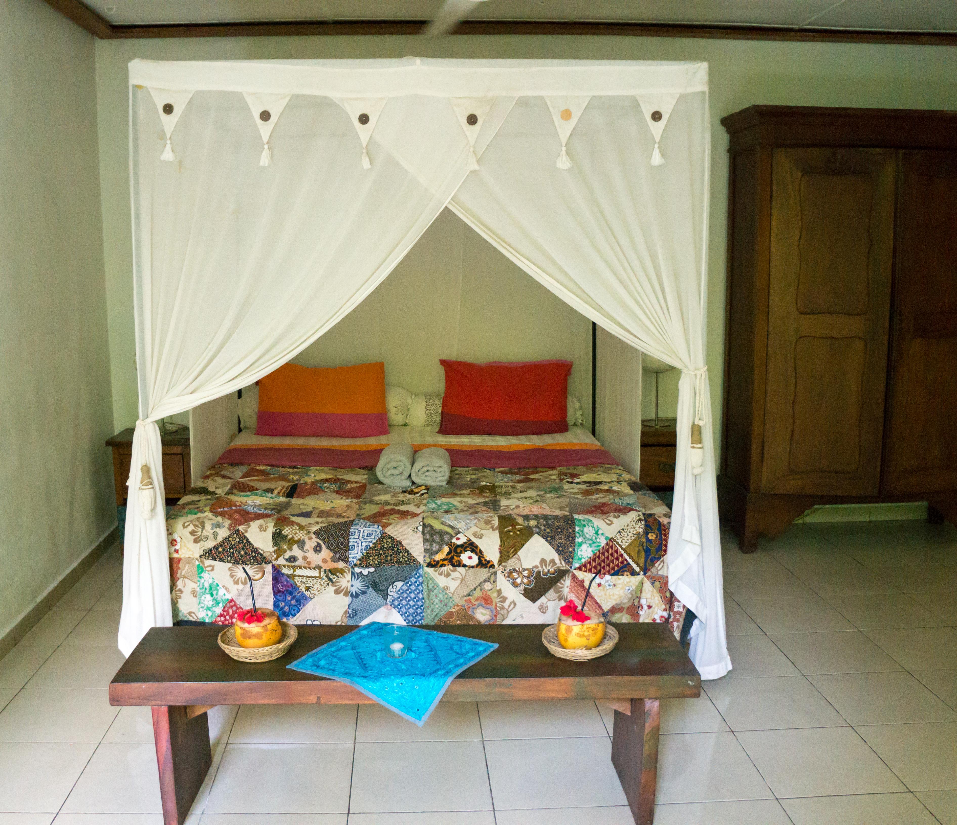 in ubud zwischen den reisfeldern wohnen die welt entdecken. Black Bedroom Furniture Sets. Home Design Ideas