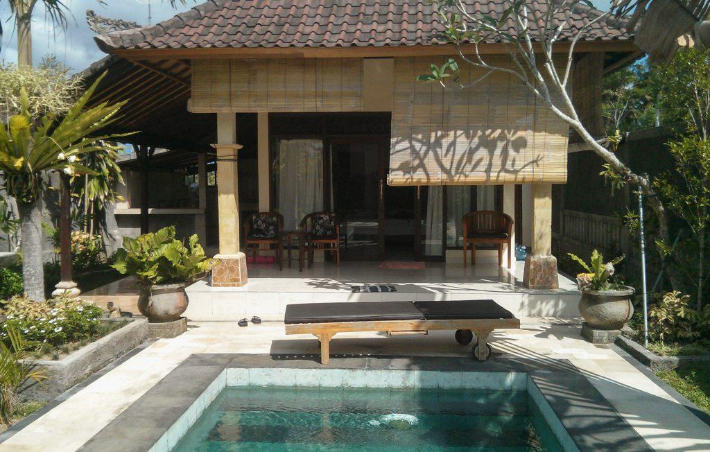 Unsere Villa in Ubud (Penestanan): 3,5 Mio. IDR für 2 Wochen