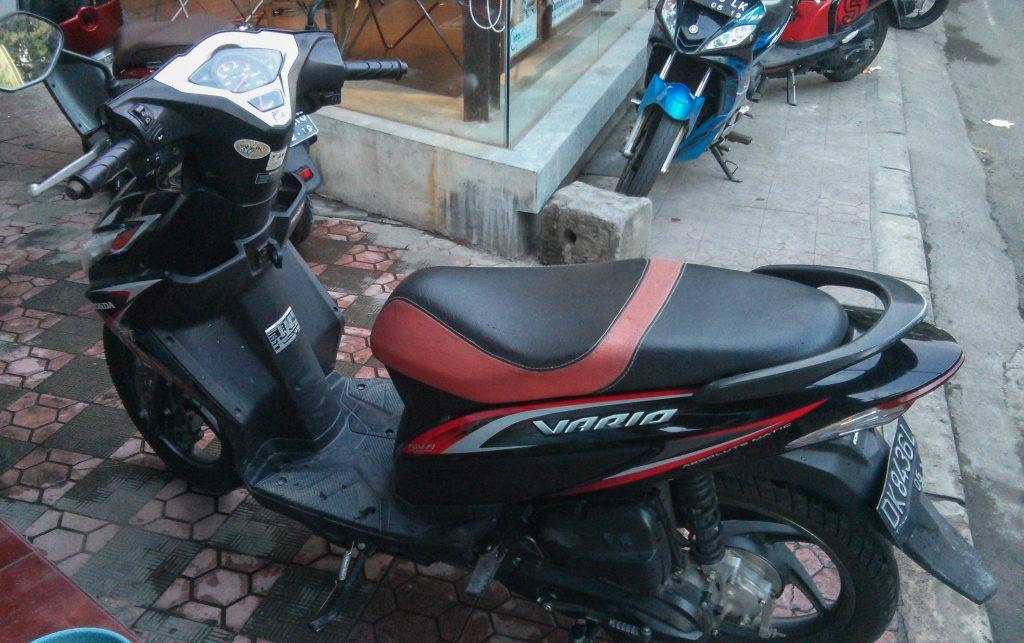 Unser Honda Vario Roller in Ubud: