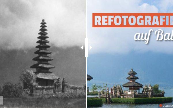 Refotografie auf Bali