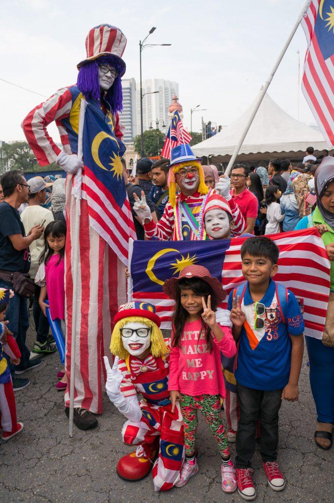Die Merdeka Parade zur Unabhängigkeit Malaysias findet jährlich am 31. August statt.
