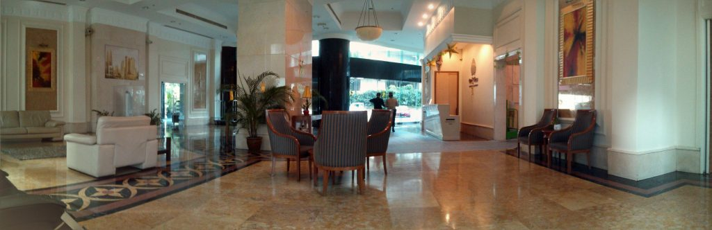 Die Lobby in der Parkview Serviced Residence in Kuala Lumpur