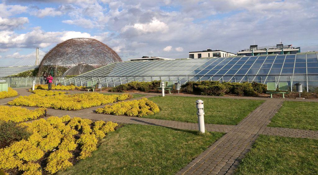 Die Gärten der Universitätsbibliothek