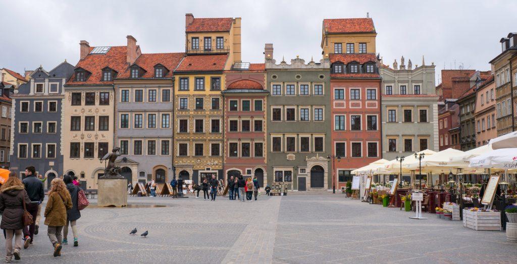 Die Warschauer Altstadt ist kaum älter als ein halbes Jahrhundert.