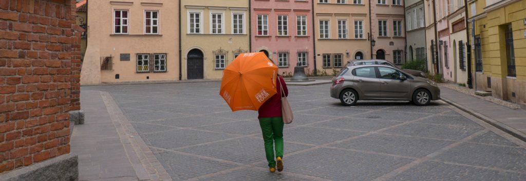 OrangeUmbrella Tour durch Warschaus Altstadt