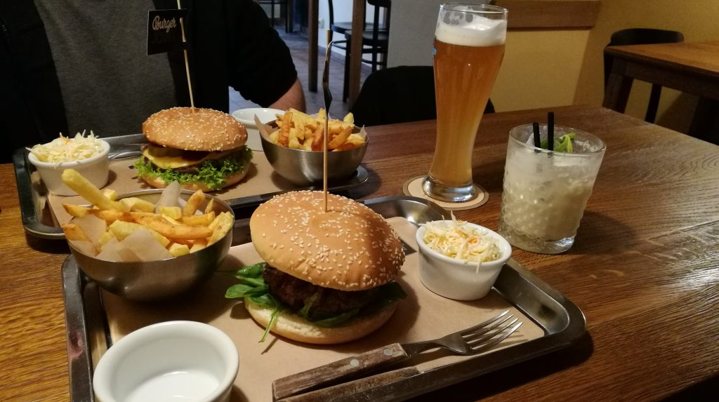 """Burger Joint"" in Lemberg"