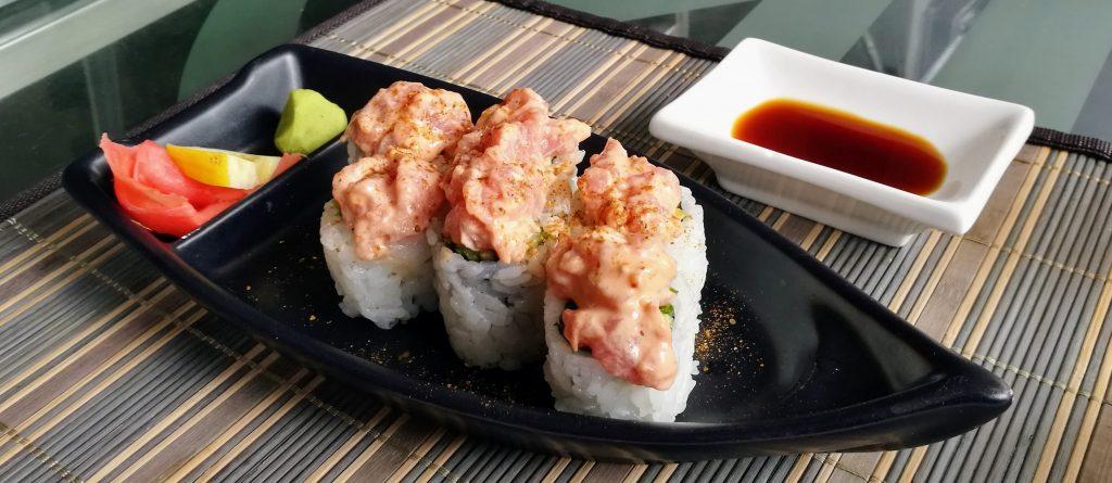 Thunfisch-Sushi im Yapi-Sushi Restaurant