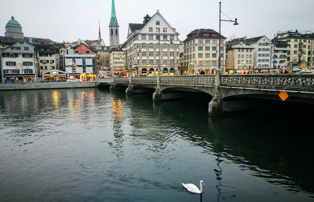 Der Zürisee in der Schweiz