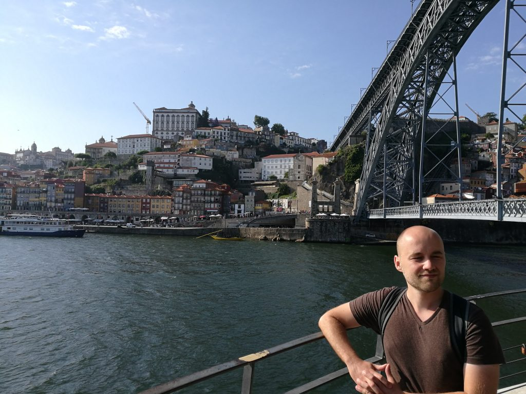 Fast am Ziel: Sören in Porto