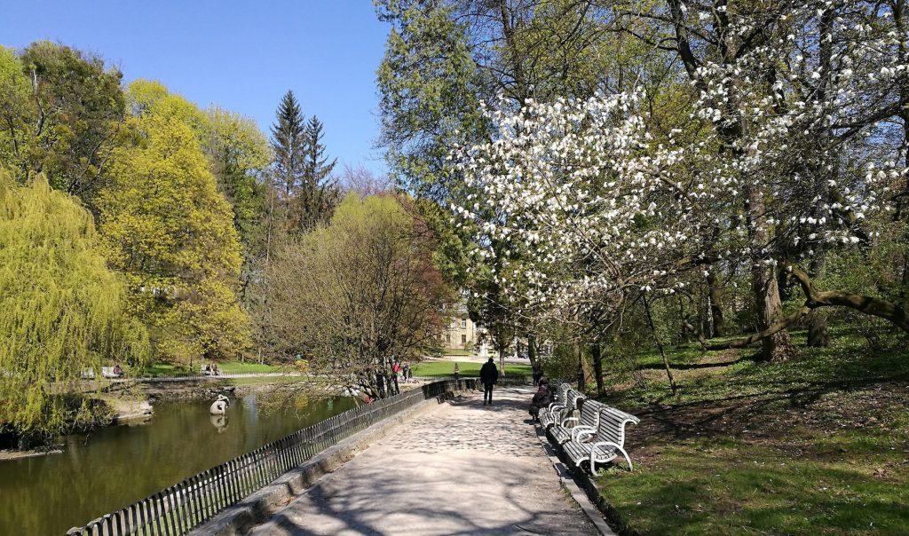 Teich im Stryisky Park