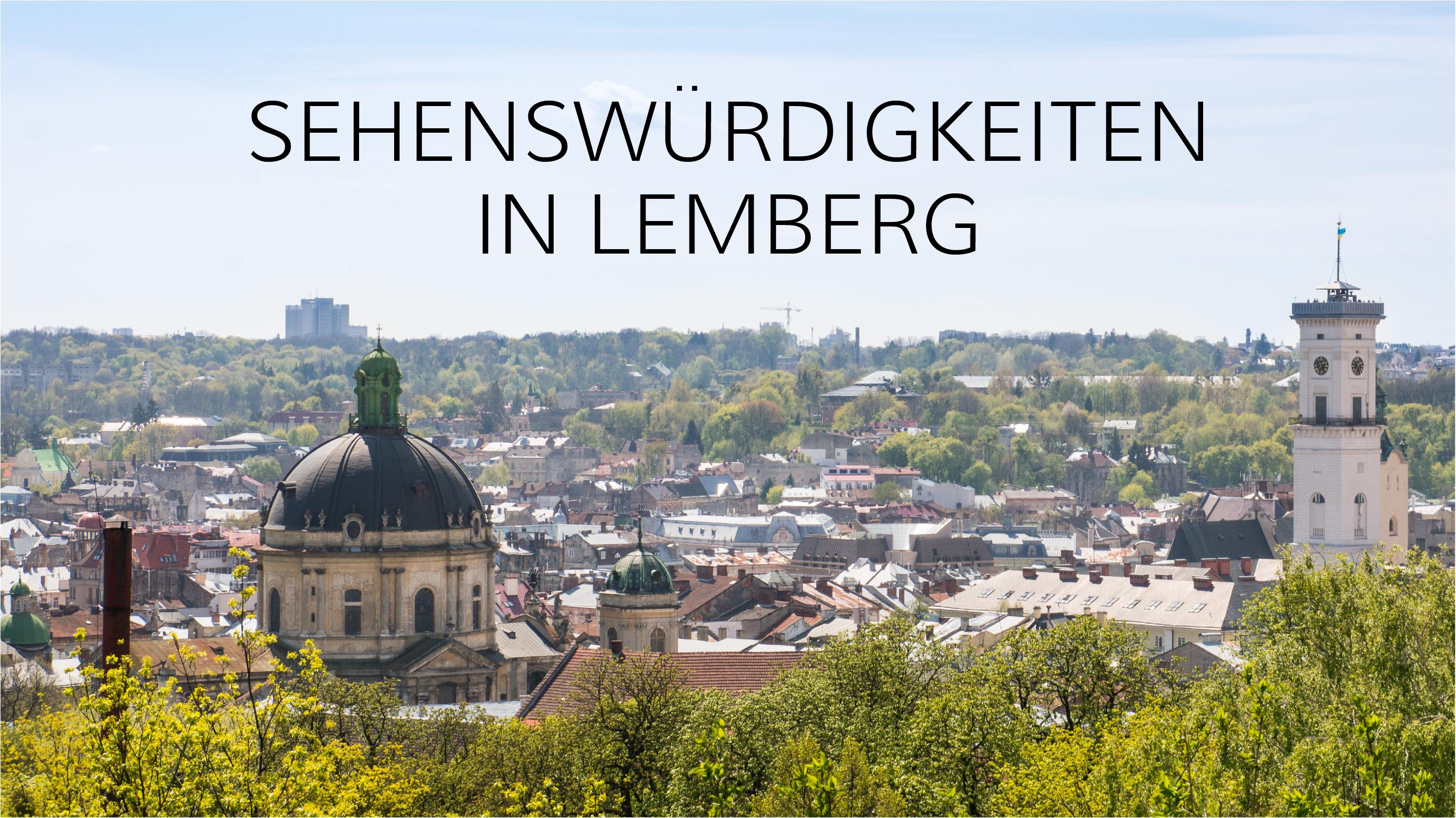Dinge, die tun in Lemberg tun solltest