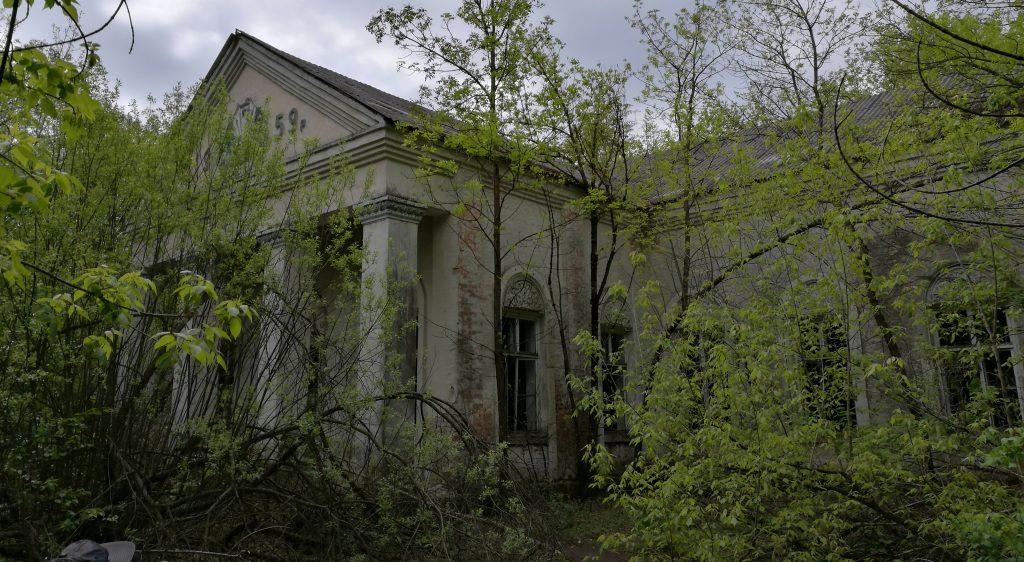 Ehemalige Gemeindehalle in Zalissia