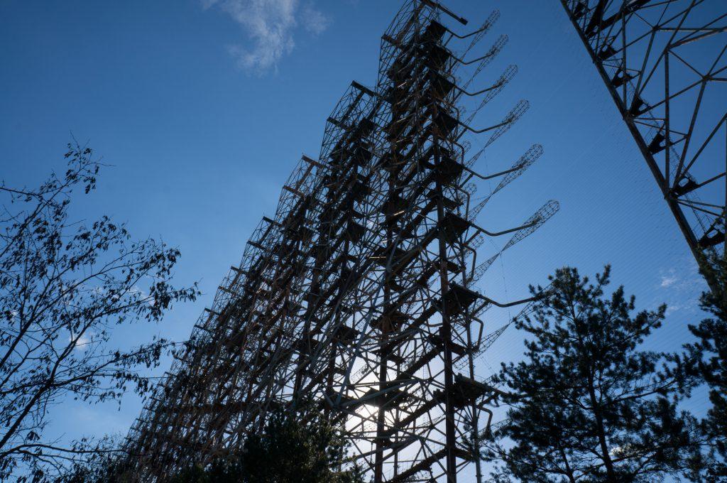 Ein Teil des Russian Woodpeckers